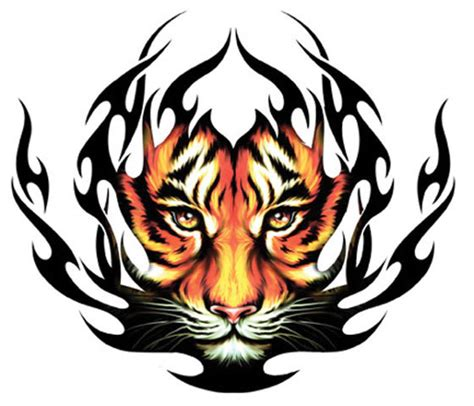 tribal tiger tattoo 301 moved permanently