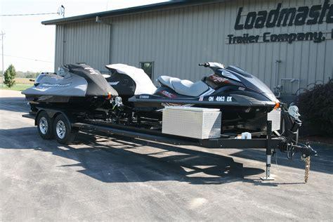 jet ski on boat trailer personal water craft pwc jet ski trailers
