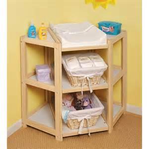 Badger Basket Corner Changing Table Badger Basket 02206 Corner Baby Changing Table