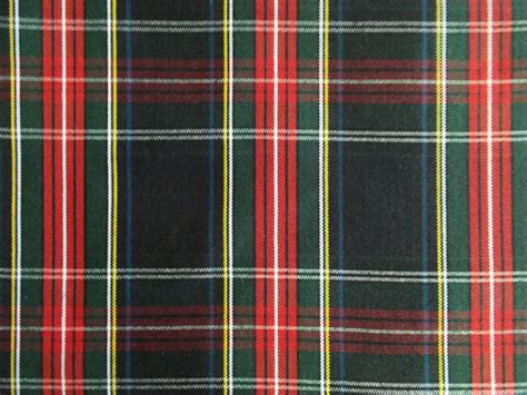Plaid In Or Out by 60 Inch Wide Black Stewart Tartan Plaid Fabric By Libbysfabric