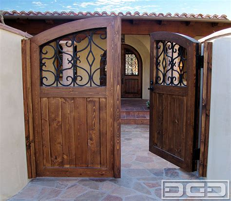 Custom Door And Gate by Architectural Gates 01 Custom Designer Pedestrian Gate