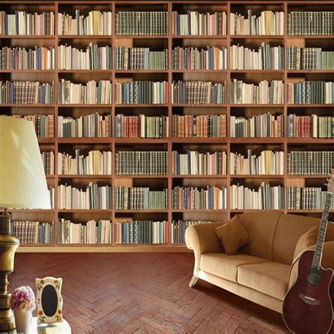 new style for interior decoration 3d effect bookshelf for