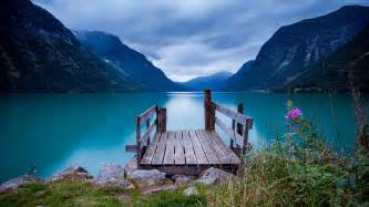 Bluewater Lights Wallpaper Norway 5k 4k Wallpaper Bridge Sea Lake