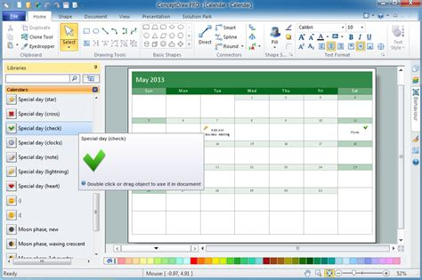 calendar layout software what i need to get started