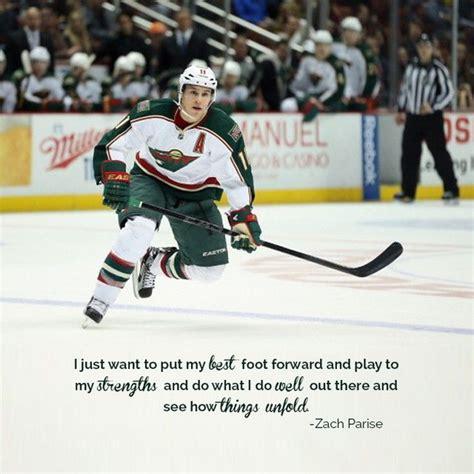 minnesota wild nhl hockey zach parise minnesota wild nhl hockey sports quote