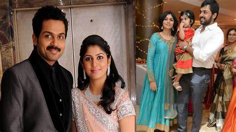 actor sivakumar wife images tamil actor karthi family photos karthi with wife youtube