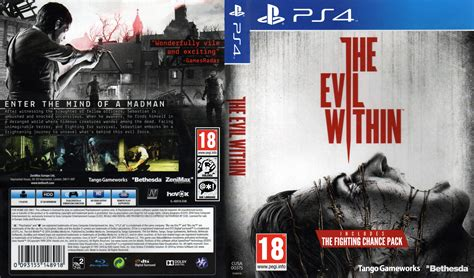 The Evil Within Ps4 the evil within dvd cover label 2014 ps 4