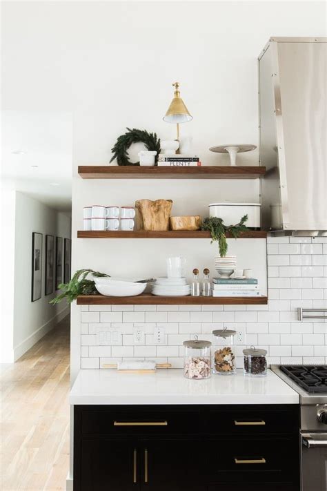 wood shelves kitchen 25 best ideas about kitchen shelves on open