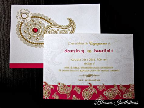 Custom Handmade Invitations - handmade custom wedding invitation malaysia stationery and