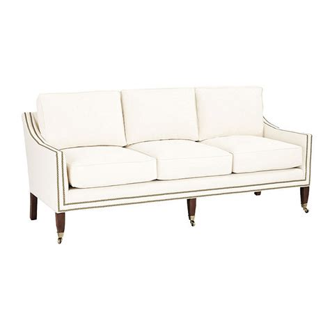 sofa with nailheads sofas with nailheads myideasbedroom com