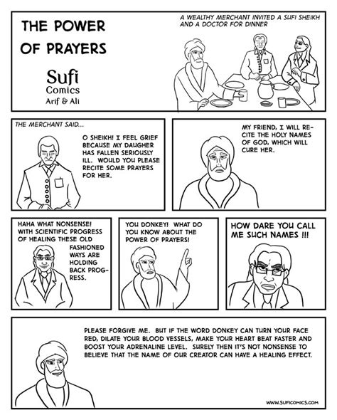 the power of 1 12 questions books the power of prayers sufi comics