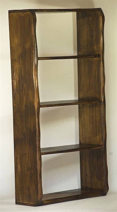 Handmade Shelf - rustic handmade wooden shelves by kwetu