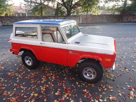 baja bronco for sale sell used 1973 ford baja bronco by bill stroppe and