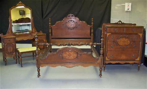 Mahogany Bedroom Vanity Sets by Antique Mahogany Bedroom Set Bed Dresser Vanity Mirror