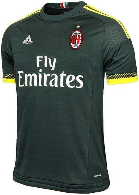 Sweater Ac Milan 2016 2017 Leaked Adidas Green adidas ac milan 2015 16 third jersey