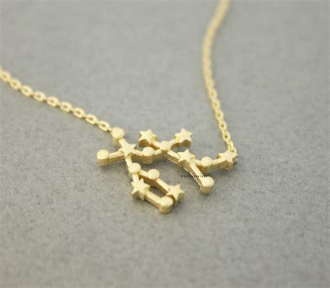 gemini the pendant necklace in 3 colors zodiac