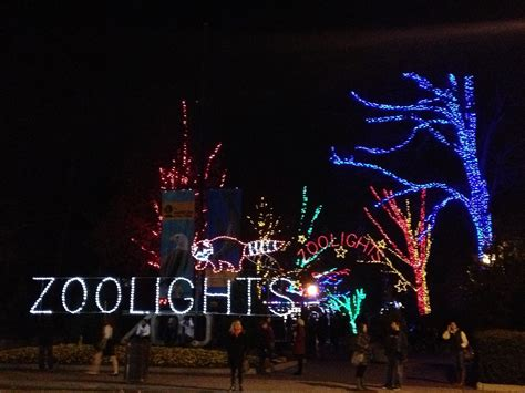 zoo lights wi national zoological park