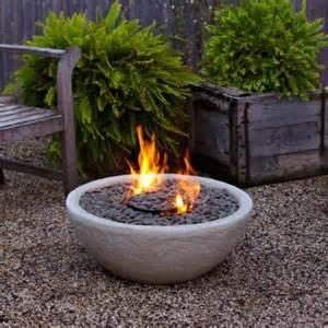 Fire bowl of a piece of pottery via courtneyoutloud