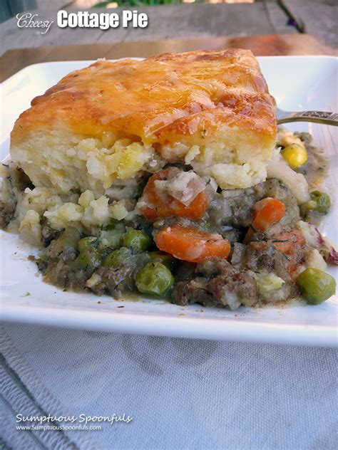 Cheesy Cottage Pie by 187 Cheesy Cottage Pie Sumptuous Spoonfuls