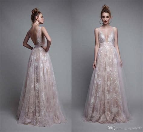 Lace Patchwork Prom Dress berta 2017 sparkly prom dresses v neck backless