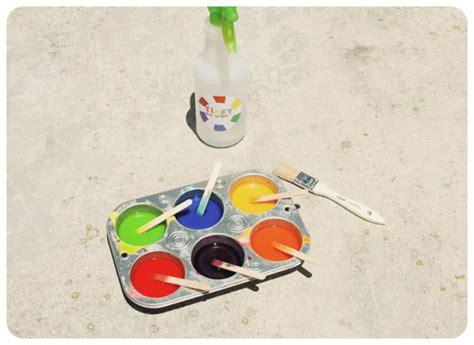 chalk paint baking soda fizzy sidewalk chalk paint kit tutorial jacks and kate