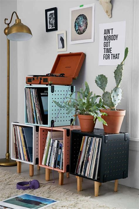 1950s home decorating ideas 35 id 233 es d 233 co pour ranger des vinyles