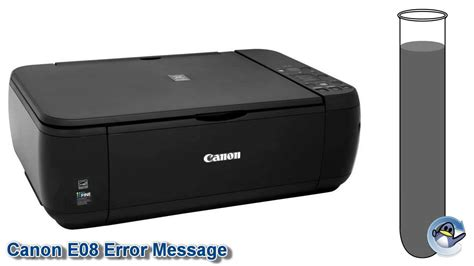 What Is The Canon E08 Error Message | what is the canon e08 error message youtube