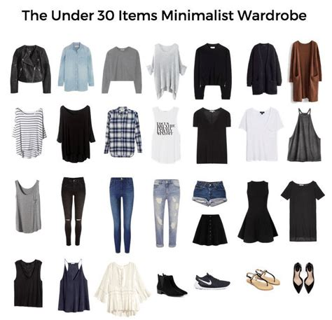 Ideal Wardrobe List by 25 Best Ideas About Minimalist Wardrobe On
