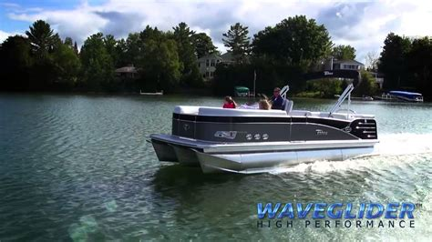 fast pontoon boats youtube fast pontoon boats tahoe s waveglider high performance