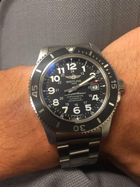 Breitling Superocean Ii Black breitling superocean 44 ii vs tudor heritage bay black