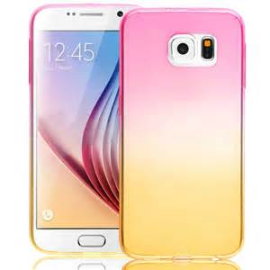 Casing Samsung Galaxy S6 Soft Fuze Colour Cover Transparant for samsung galaxy note 5 s6 edge plus ombre gradually soft silicone cover ebay