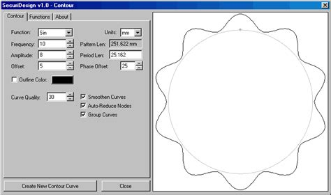 corel pattern generator securidesign for coreldraw 10 11 contour generator
