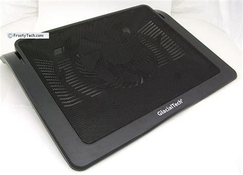 cooling pad reviews glacialtech igloo pad series r15 laptop cooling pad review pcstats
