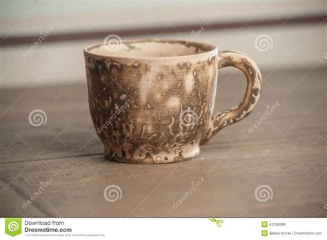 Handcrafted Tea - traditional handcrafted mug stock photo image 43358386