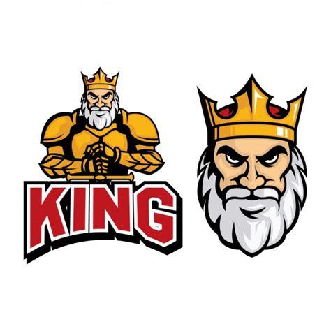 free design logo cartoon coloured king logo design vector free download
