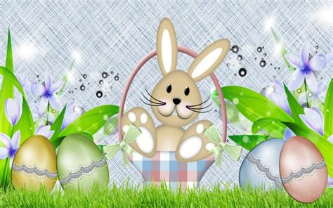 abstract easter wallpaper hd spring bunny easter eggs wallpaper download free 87300