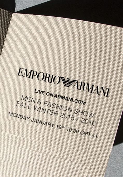 Fashion Week Invitation Cards