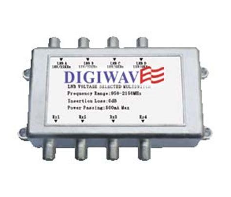 Multiswitch 4x4 satellite switch