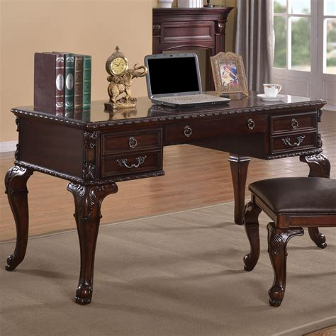 crown office furniture crown kiera classical home office desk fashion