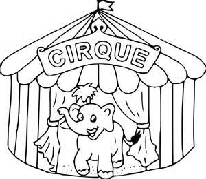 coloriage chapiteau cirque 224 imprimer sur coloriages