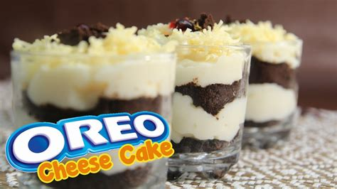 cara membuat cheese cake video cara mudah membuat oreo cheese cake lumer youtube