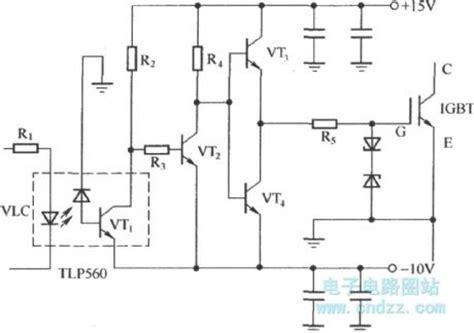 integrated circuits versus discrete components igbt drive circuit with discrete component control circuit circuit diagram seekic
