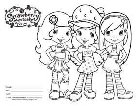 strawberry shortcake coloring book free coloring pages of strawberry shortcake