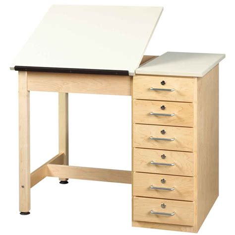 Drafting Table With Drawers Drawing Table With Drawers Diversified Woodcrafts Schoolsin