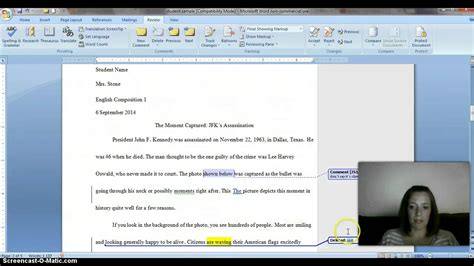 How To Markup A Word Document
