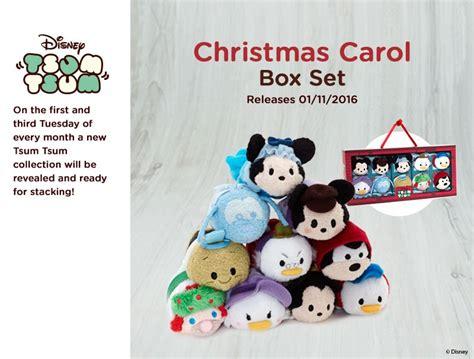 Cp White Big Tsum new mickey s carol tsum tsum box set to be