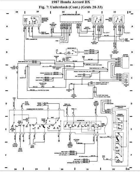 2001 honda accord headlight wiring diagram fuse box and