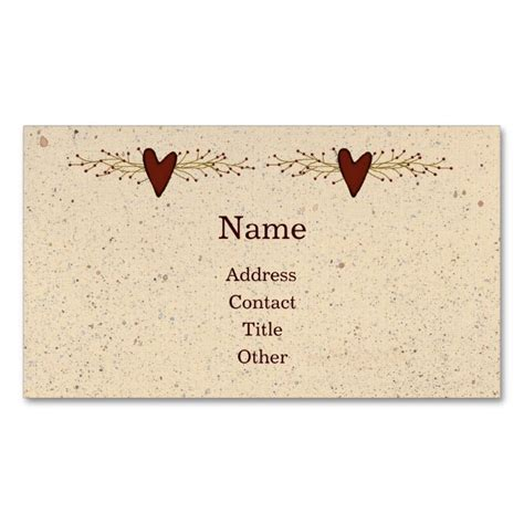 I Need A Card Template by 2192 Best Rustic Business Card Templates Images On