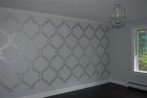 silver wall paint ideas crafty july lentine