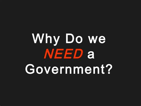Why We Do Not Need To Detox From Technology by 01 Why Do We Need Government